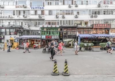 Wie Pekinger triste Wohnblöcke aufwerten