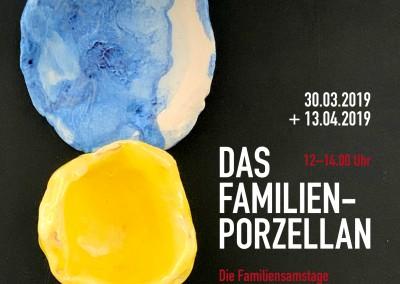 """Familienworkshop """"Das Familien-Porzellan"""" und """"Rund und eckig"""" vonZuckerwattenkrawatten"""