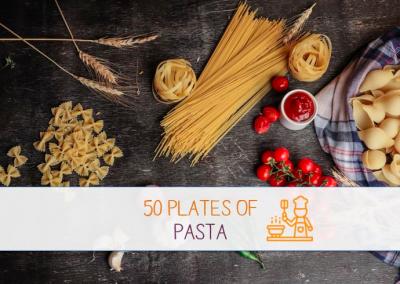 "Über den Tellerrand goes feldfünf – ""50 Plates of Pasta!"""