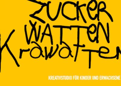 wöchentliche, künstlerische und kreative Workshops von Zuckerwattenkrawatten