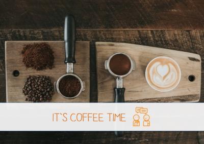 "Über den Tellerrand goes feldfünf – ""It's Coffee Time!"""