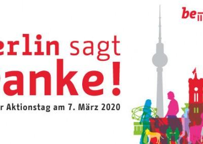 Rundgang in feldfünf: Berlin sagt Danke