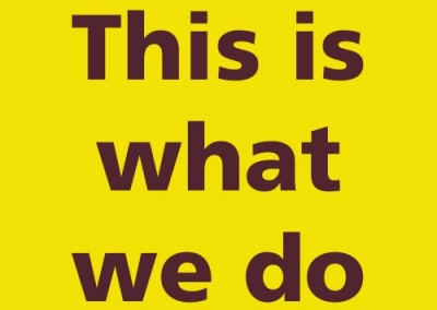 Dialog: This is what we do WIA
